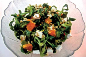 Salade de rampon à l'orange