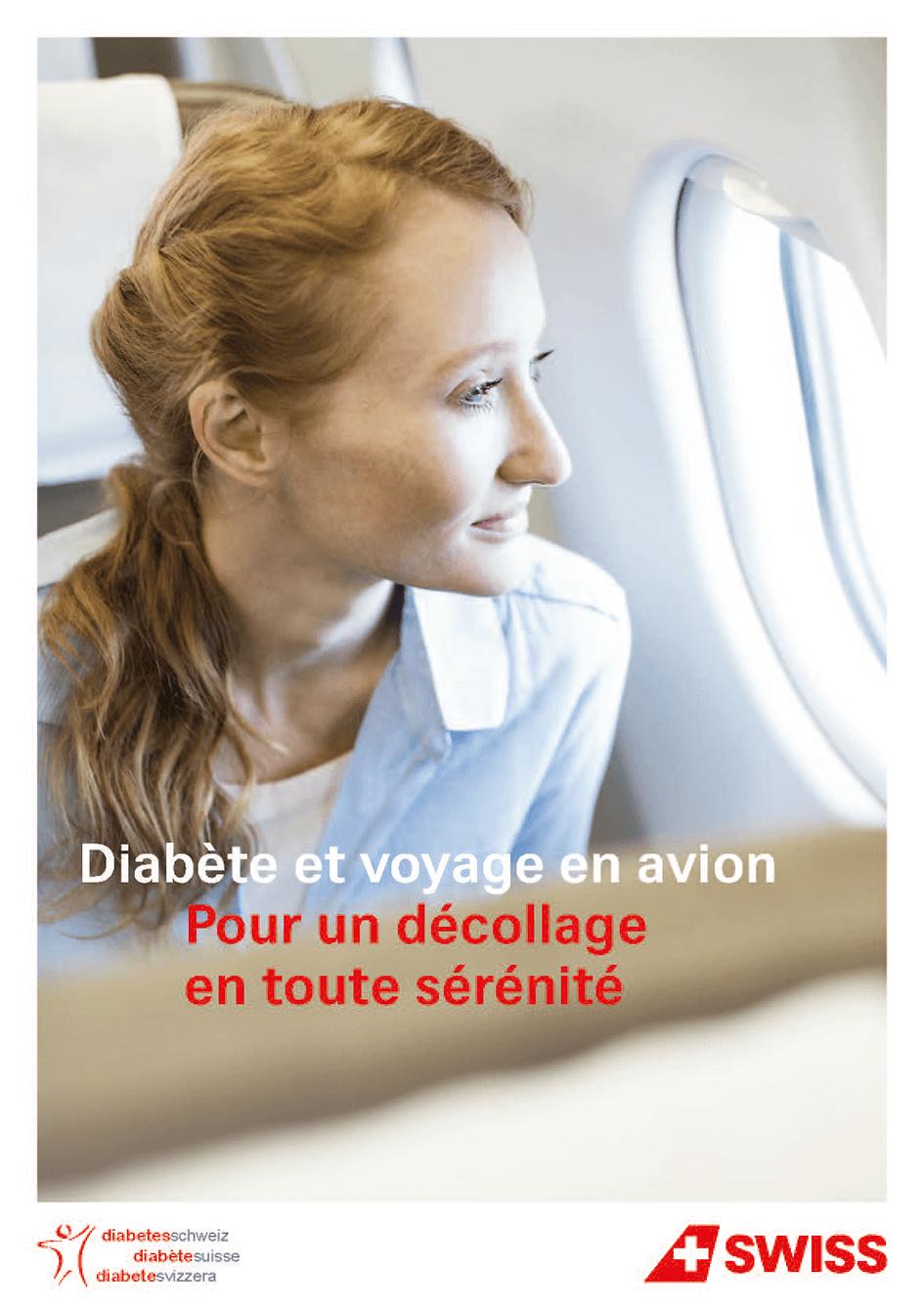 brochure voyage en avion