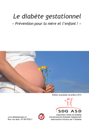Brochure diabete gestationnel