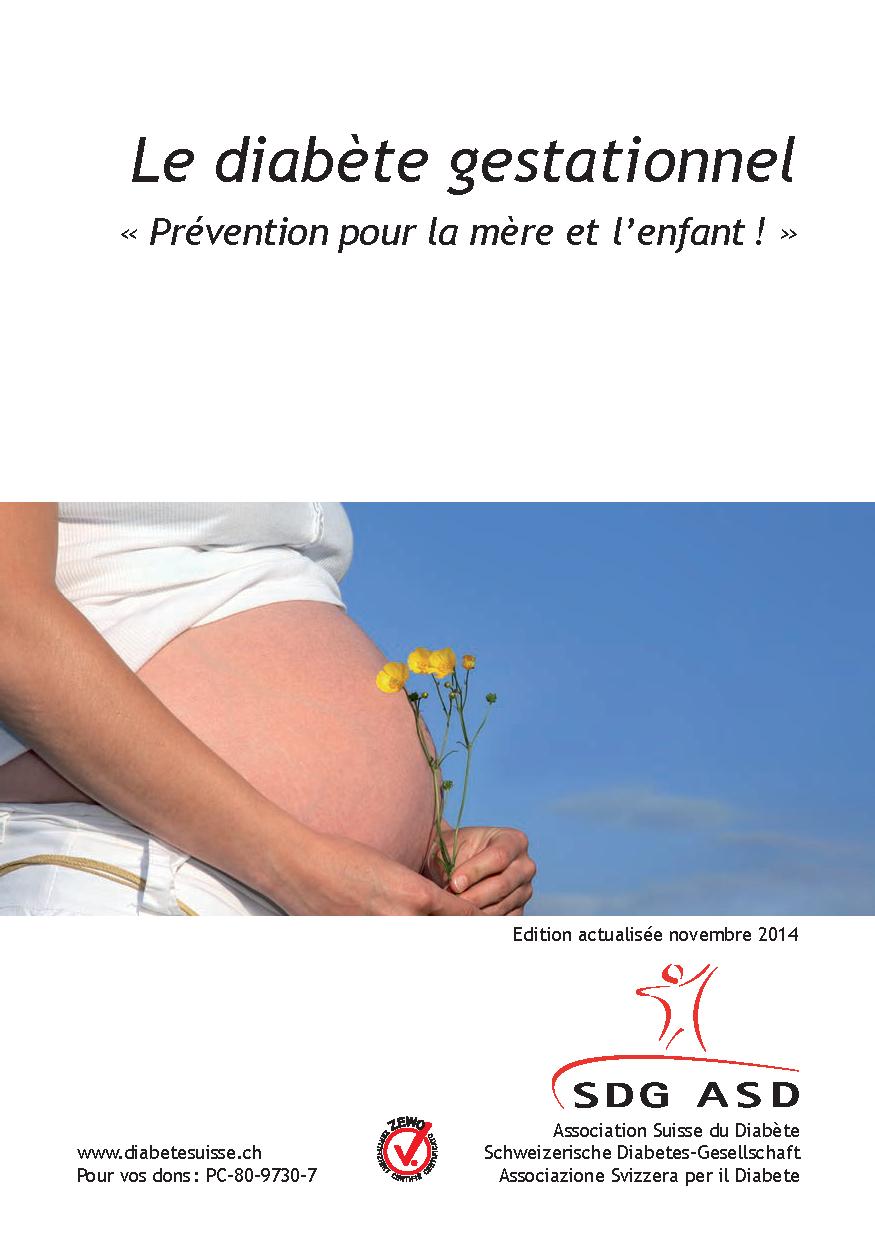 Brochure diabete gestationnel