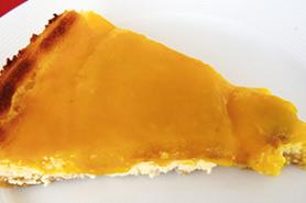 Gâteau au séré à la mangue