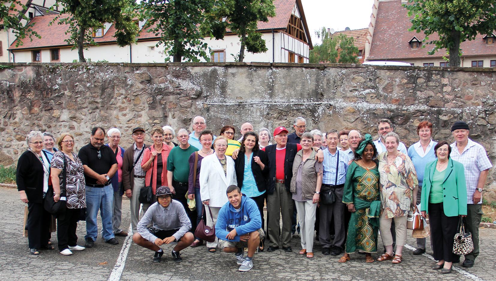 Sortie de l'AND en Alsace, organisée par CHristine Boillat