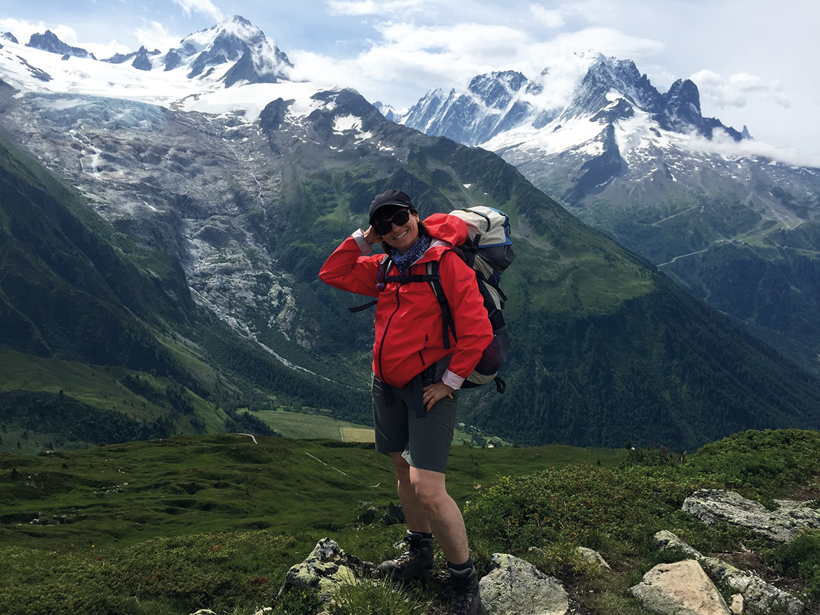 Sur le parcours de la Haute-Route Chamonix - Zermatt
