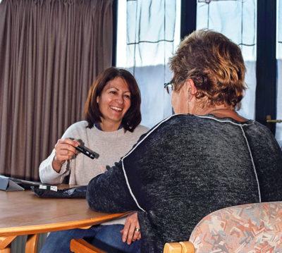 Vera Cherbuin en consultation