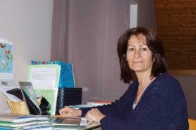 Vera Cherubin dans son bureau