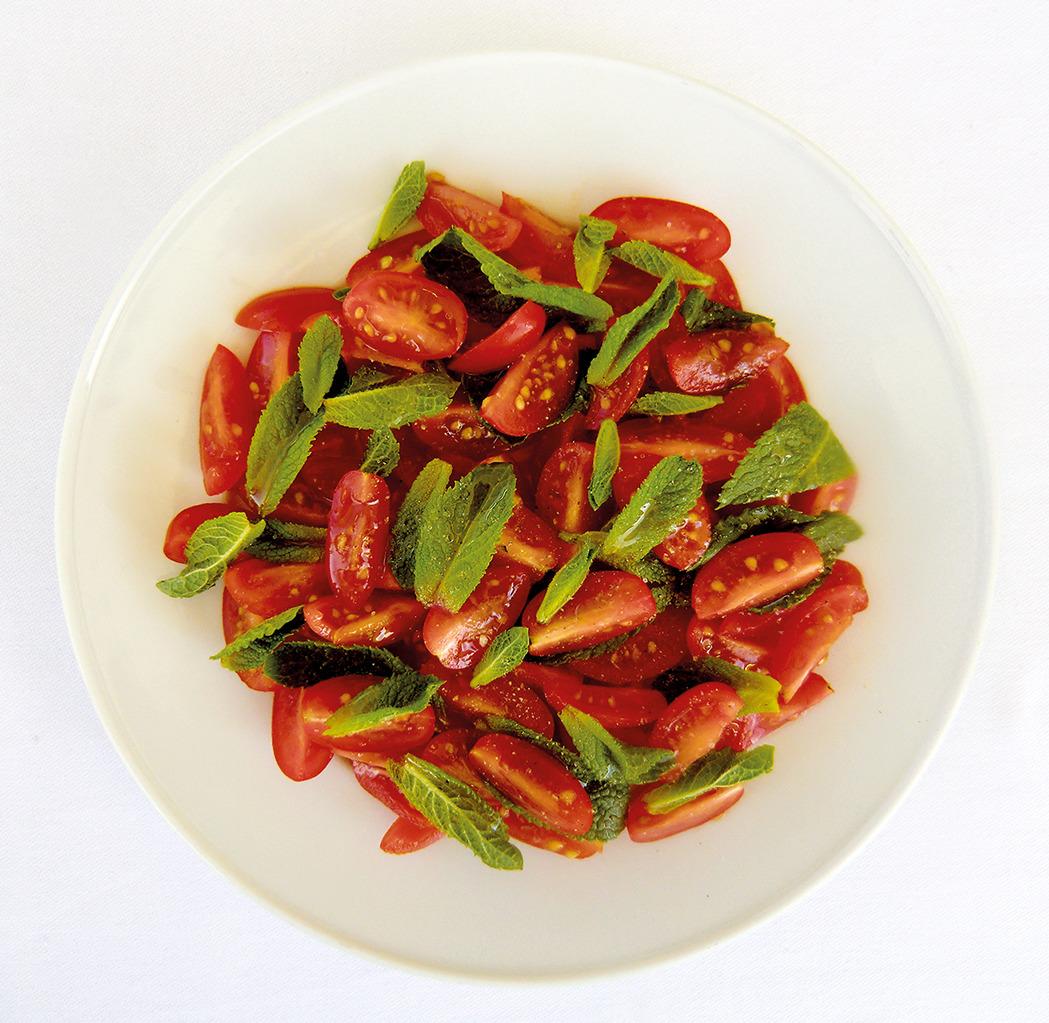 Recettes Tomates Menthe