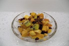 Salade de fruits de Noël