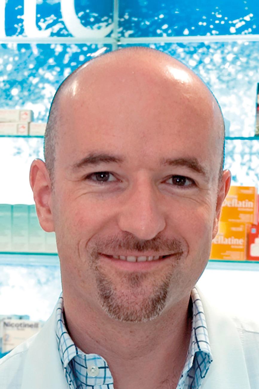 Christophe Rossier, pharmacien